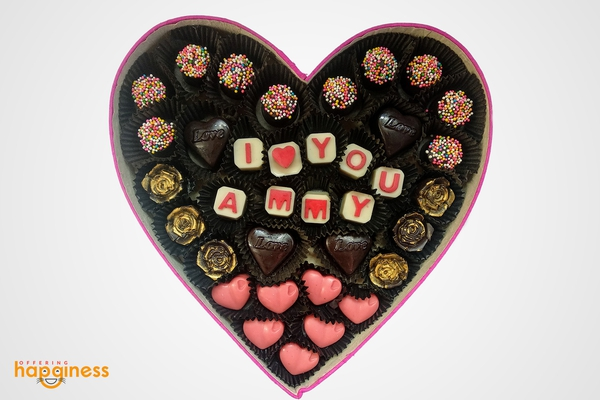I Love You Customised Chocolate